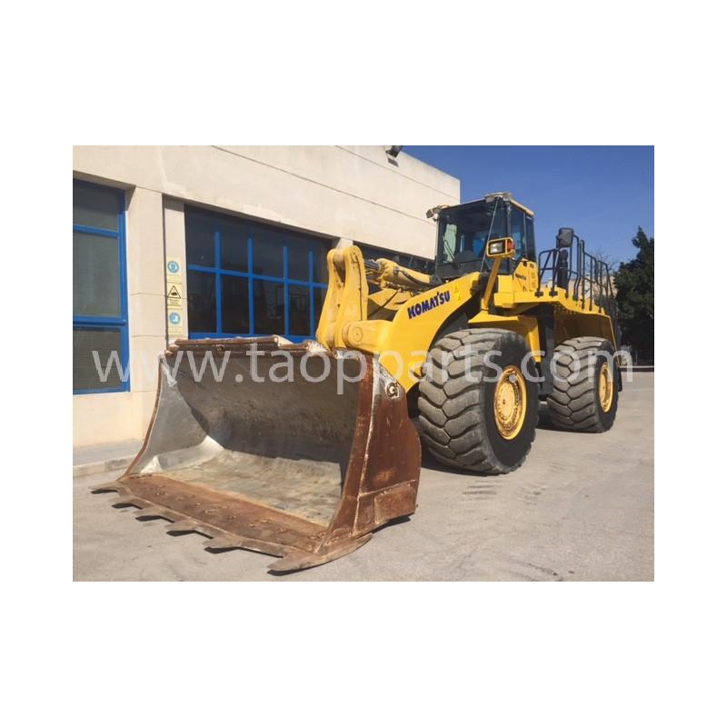 Pá carregadeira de pneus Komatsu WA600-6