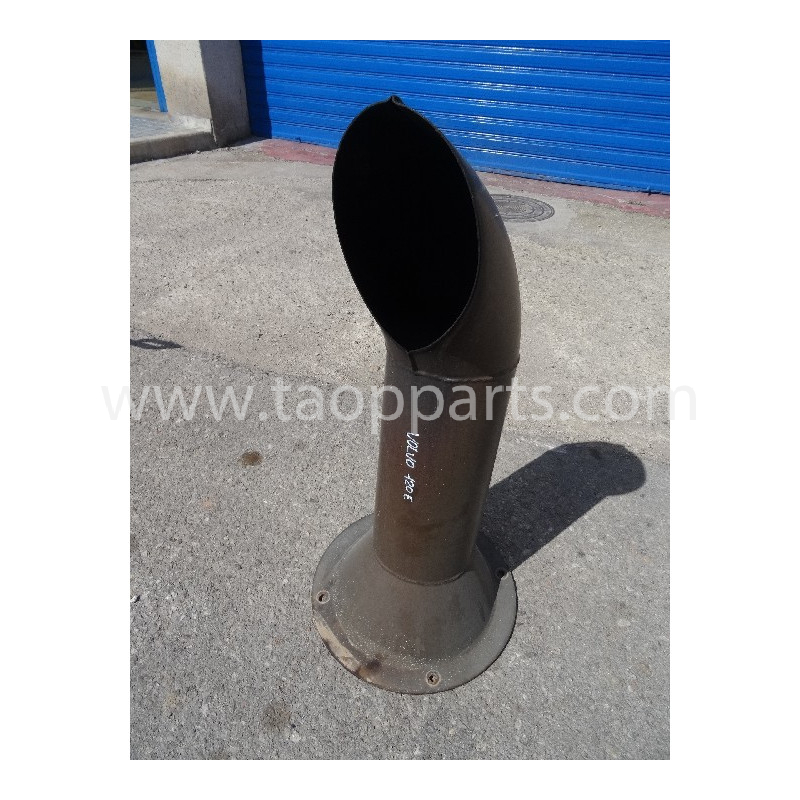 Tubo de escape 11148403 para Pala cargadora de neumáticos Volvo L120E · (SKU: 5644)