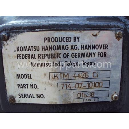 Transmission 714-07-10100 pour Chargeuse sur pneus Komatsu WA470-3 · (SKU: 242)