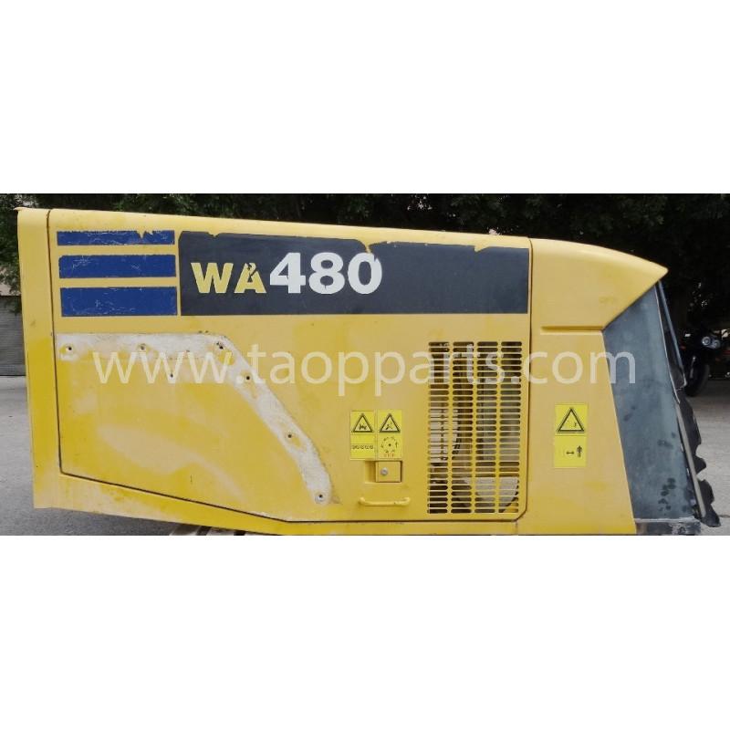 Capot Komatsu 421-54-H1A01 pour WA480-5 · (SKU: 2419)