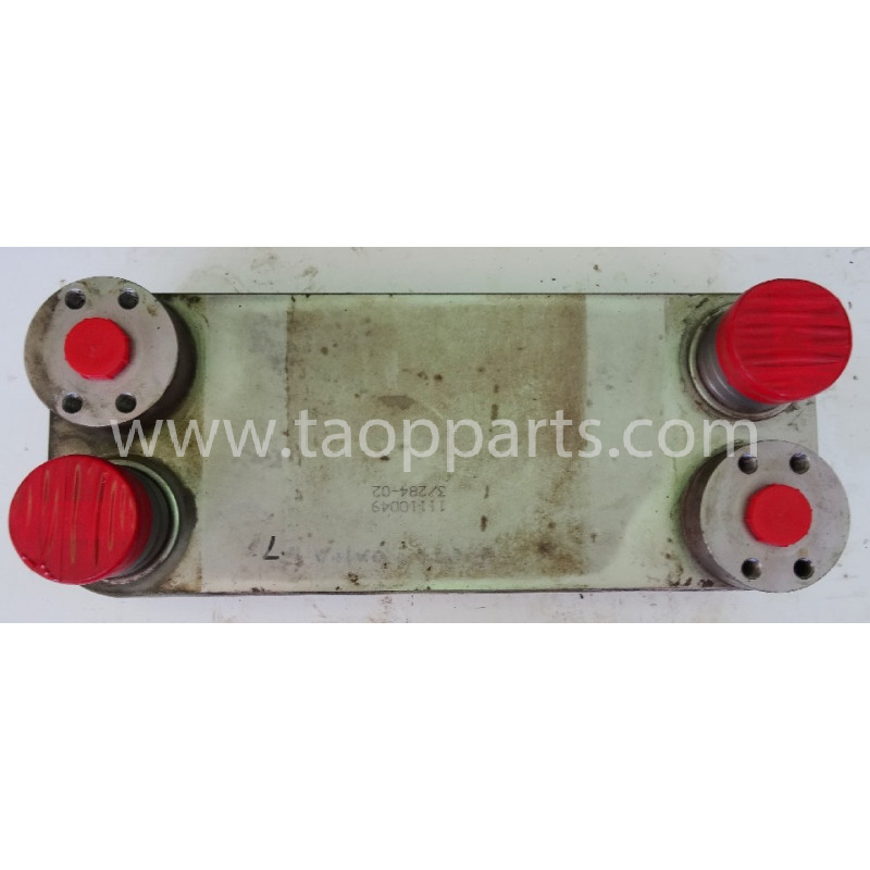 Enfriador de aceite hydraulico Volvo 11110049 para L120E · (SKU: 51325)