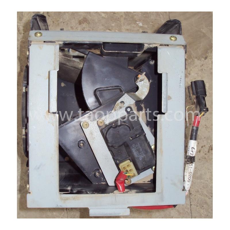 Conjunto de ventilación 421-07-31260 para Pala cargadora de neumáticos Komatsu WA470-5 · (SKU: 2312)