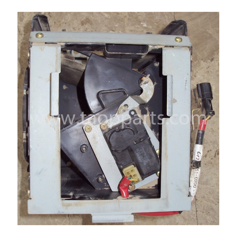 Ensemble ventilation Komatsu 421-07-31260 pour WA470-5 · (SKU: 2312)