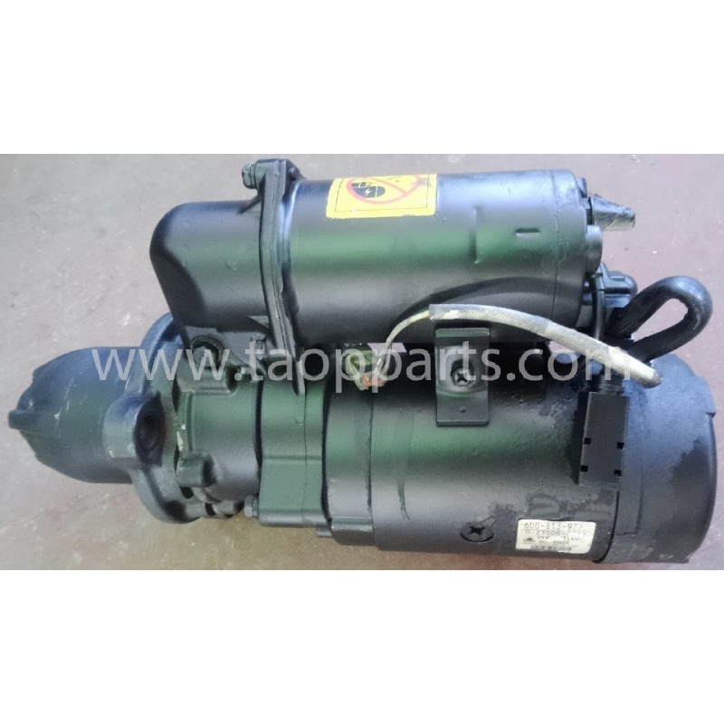 Motor de arranque usado 600-813-9322 para Pala cargadora de neumáticos Komatsu · (SKU: 51586)