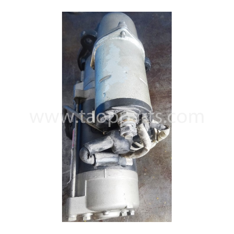Motor de arranque usado 600-863-8110 para EXCAVADORA DE CADENAS Komatsu · (SKU: 51286)
