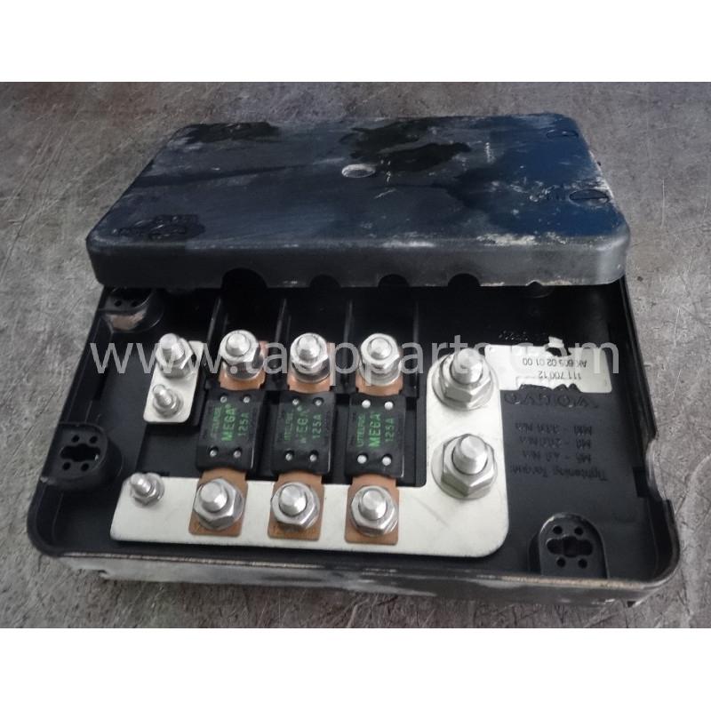 Porta fusibles VOE11170012 para Pala cargadora de neumáticos Volvo L150E · (SKU: 51727)