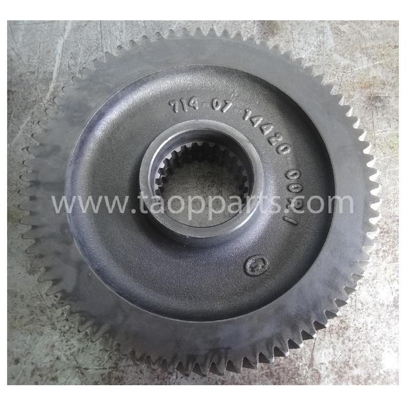 Engranaje usado 714-07-14430 para Pala cargadora de neumáticos Komatsu · (SKU: 52024)