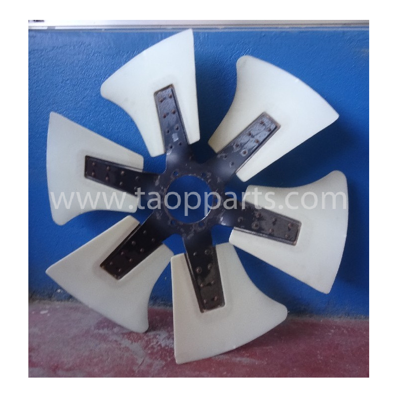 Ventilador Komatsu 600-645-6850 WA480-5H · (SKU: 50778)