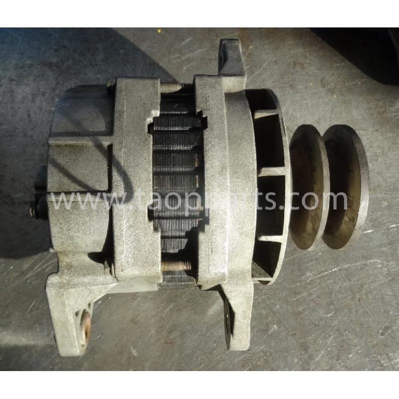 Alternador Komatsu 600-821-8360 de Bulldozer de cadenas D65EX-12 · (SKU: 52689)