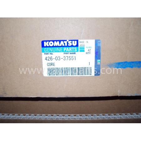 Komatsu Core 426-03-37551 for WA600-6 · (SKU: 229)