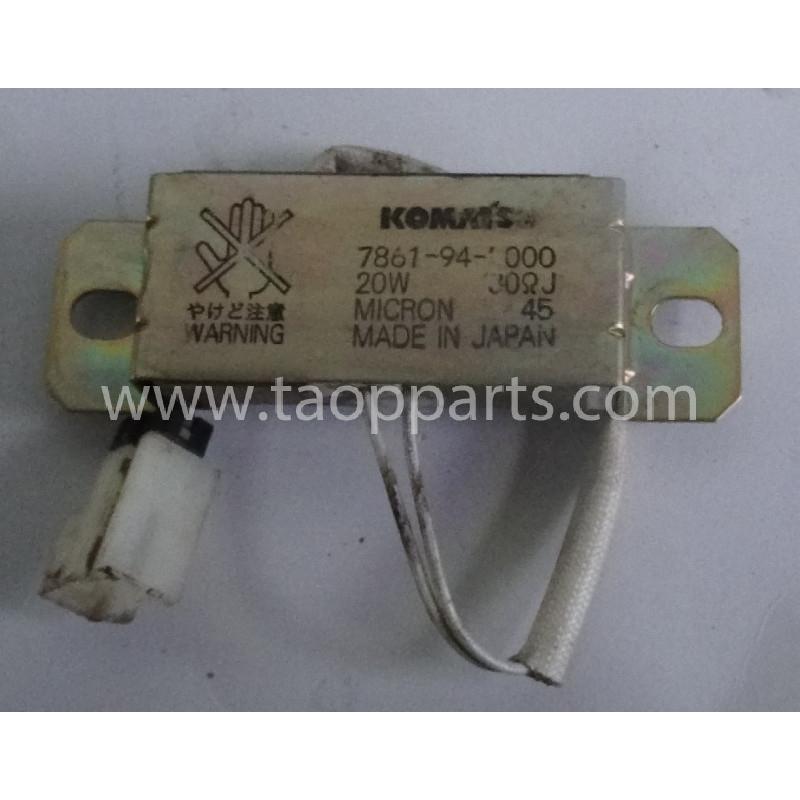 Resistance [usagé|usagée] Komatsu 7861-94-3000 pour PC210LC-7K · (SKU: 52890)