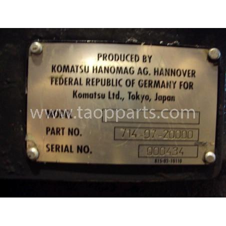 Transmission [usagé|usagée] 714-07-20000 pour Chargeuse sur pneus Komatsu · (SKU: 694)
