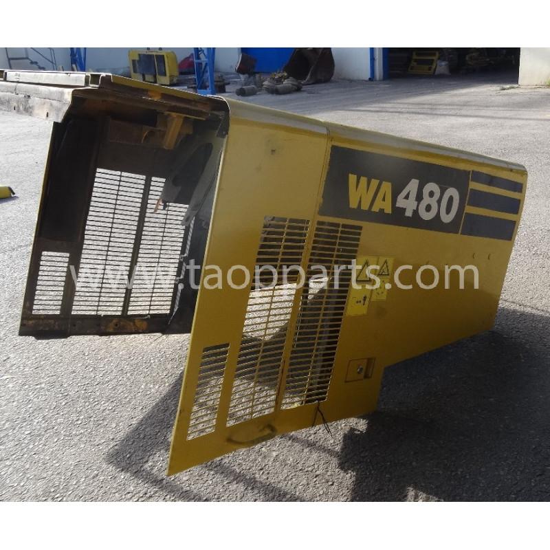 Komatsu Bonnet 421-54-41111 for WA480-6 · (SKU: 52509)