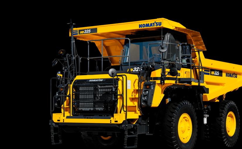 Nuevos dumpers rígidos Komatsu: HD325-8 y HD405-8