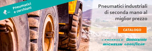 pneumatici industriali di seconda mano Micheline, bridgestone