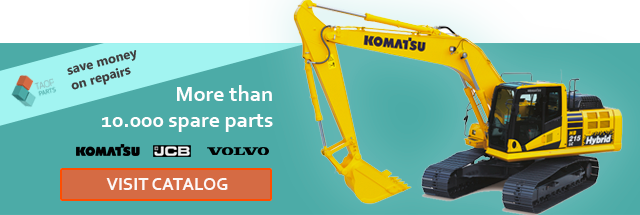 used spare parts komatsu volvo jcb catalog