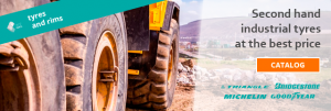 used industrial tyres and rims