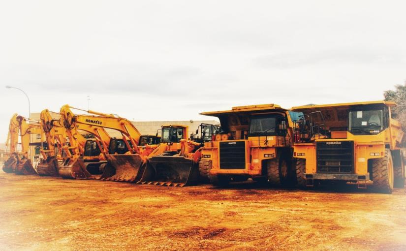 ¡Ampliación de stock! Las últimas máquinas de Komatsu y Volvo listas para ser desguazadas