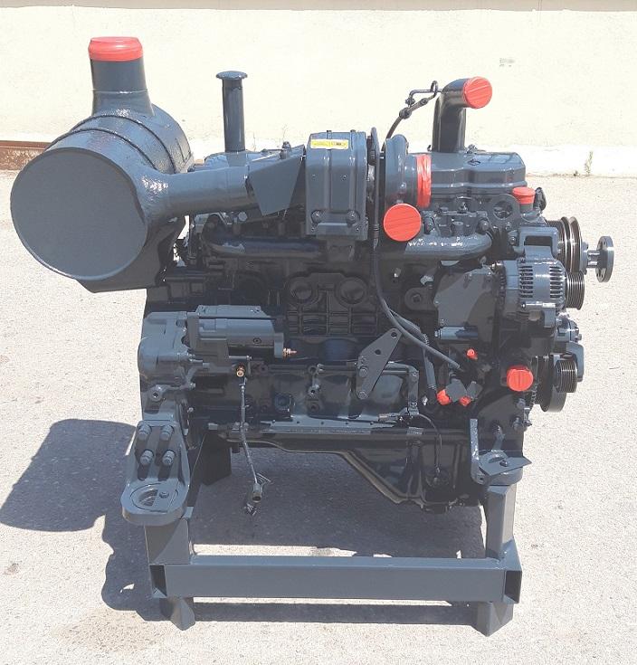 Engine for crawler excavator